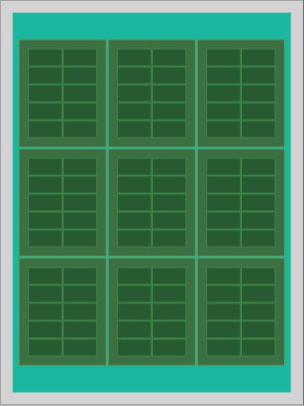 Array Layout Result